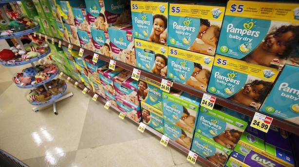 USA: Blandede bolsjer på ugens sidste handelsdag - Pampers-ejer skyder til vejrs efter stærkt regnskab, Ebay slår bak