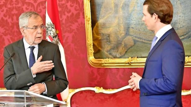 Østrig holder parlamentsvalg i september efter videoskandale