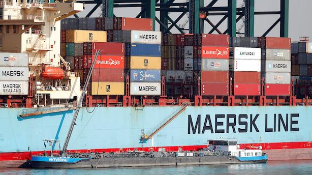 Markedet lukker: Handelsstrid og svage PMI-tal præger rødt marked - Mærsk faldt inden regnskab