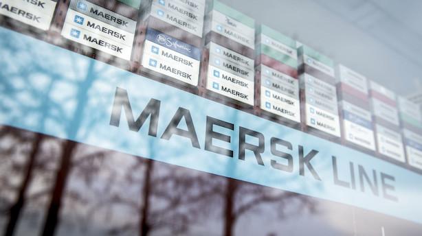 """Tysk storbank: Mærsk-aktien er blevet for billig - anbefaler nu """"køb"""""""