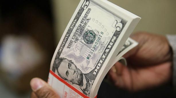 Dollar på sit laveste som reservevaluta siden 2013