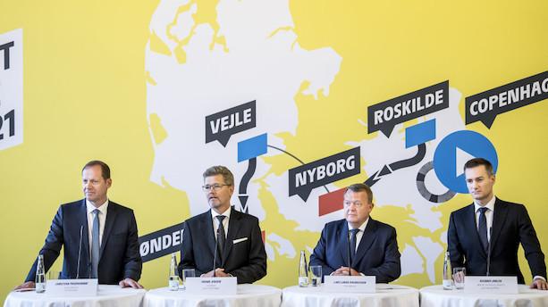 Dansk Tour de France-start bliver dyrere end først meldt ud
