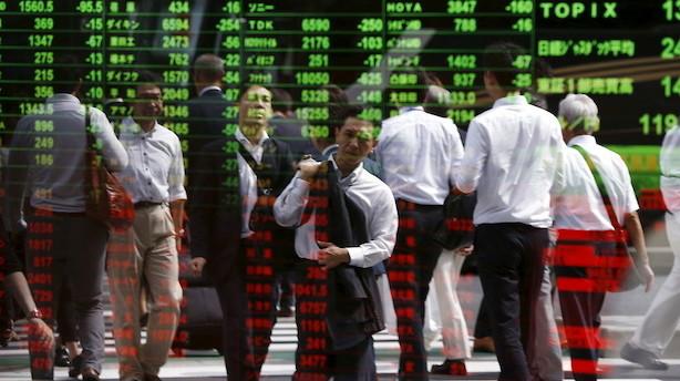Aktier: Trump ryster investortilliden i Asien