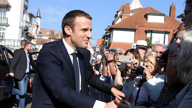 Macron øjner jordskredssejr ved fransk parlamentsvalg