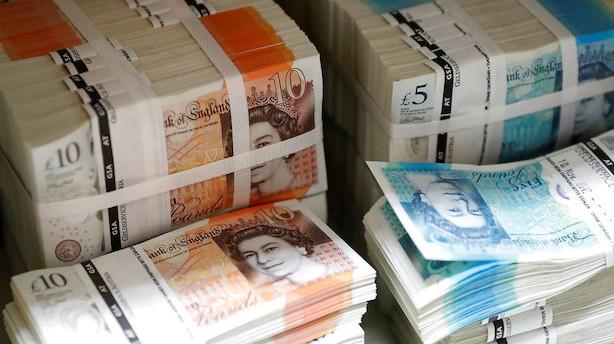 valuta pund til kr