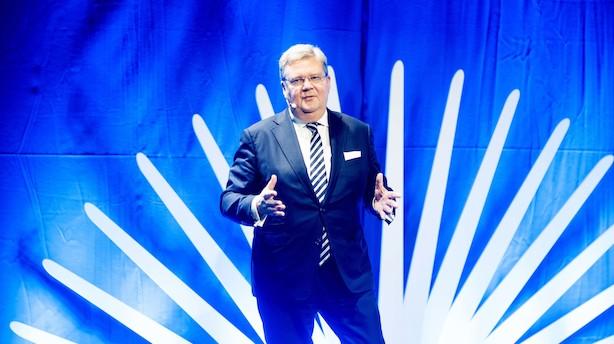 Aktier: ISS og Danske Bank dannede bagtrop - Vestas dykkede også