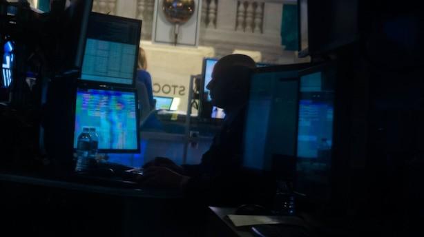 Aktier: Wall Street starter i godt humør trods skuffende banker