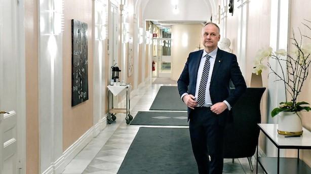 Svensk regering lever på venstrefløjs nåde