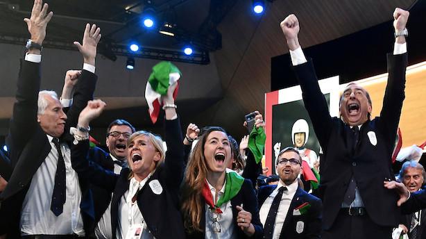 Italienske byer bliver værter for vinter-OL i 2026