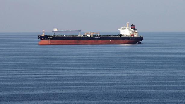 Iran opbringer udenlandsk tankskib mistænkt for oliesmugling