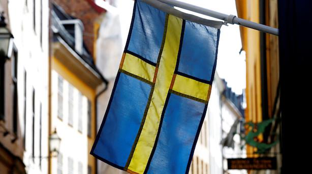 Svensk krone i laveste niveau i ti år
