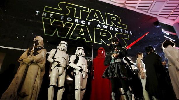 Star Wars slår global rekord - billetindtægter for milliarder
