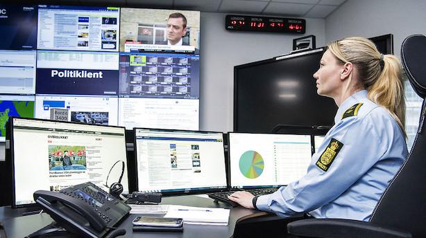 Efter kritisk weekend: Poltiet undersøger få tip om cyberangreb