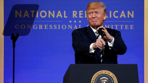 Mens  du sov: Donald Trump vil opbygge handelsbarrierer mod Kina