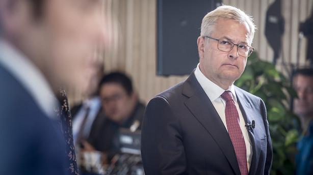 Maersk Lines finansdirektør opsiger sin stilling