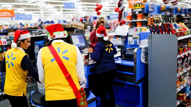 USA: Aktierne ventede sig til plus - Walmart lyste op