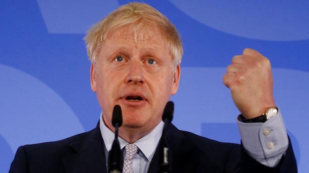 Flere kandidater i farezonen: Britiske konservative klar til første afstemning i lederopgør