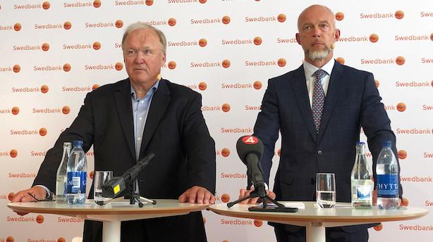 """Swedbank erkender alvorlige brister i hvidvaskkontrol: """"Visse brister fremstår stadig"""""""