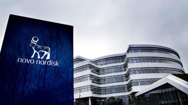 Markedet lukker: Novo Nordisk sank til bunds på rød dag