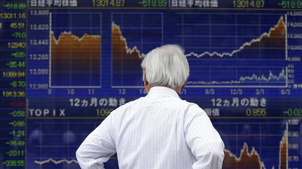 Aktier: Amerikansk toldvarsel sender aktierne i rødt i Asien