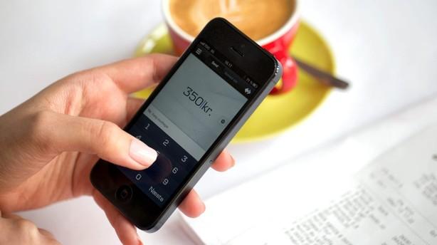 Danske Bank lancerer betaling med mobilen