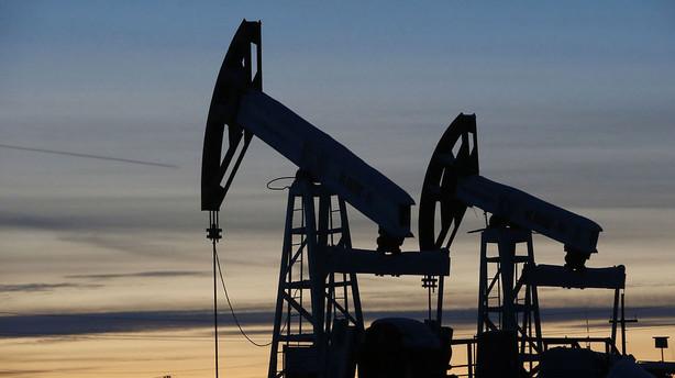 Aktier: Olieprisen l�fter Wall Street med op