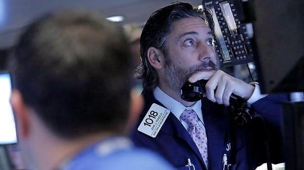 Aktier: USA tilbage i negativt terræn