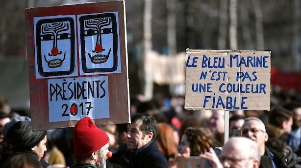 Mens du sov: Alle bolde er igen kastet i luften i det franske valg
