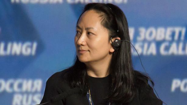 Medie: Huawei sætter formand ind som midlertidig finansdirektør efter anholdelse