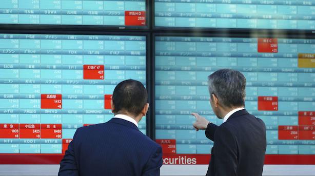 Aktier: Pæne stigninger i Asien anført af Tokyo