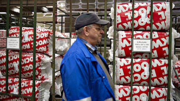 Aktier: Rockwool fik store prygl op til weekenden - faldt 11 pct i rødt C25