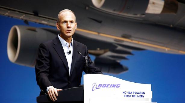 Efter flystyrt: Boeing har kurs mod største fald på børsen siden 2001