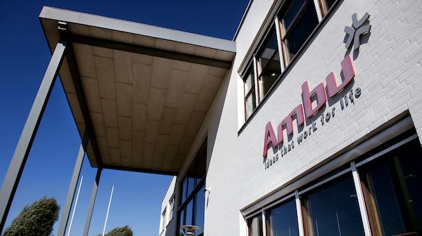 Ambu indgår amerikansk samarbejde om distribution