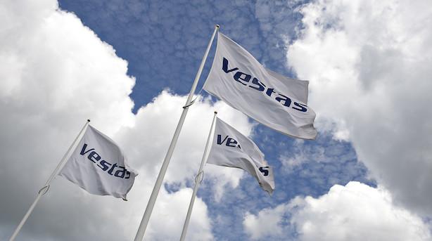Aktieluk i Europa: Vestas blev belønnet for regnskab i grønne markeder