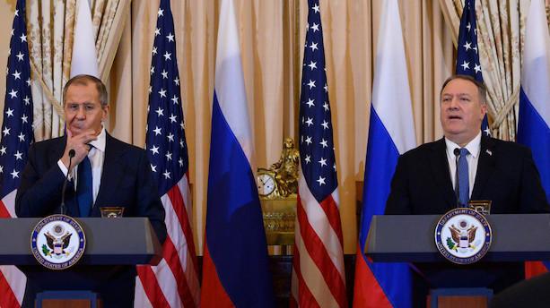 Trump advarer mod indblanding i valg under møde med Lavrov