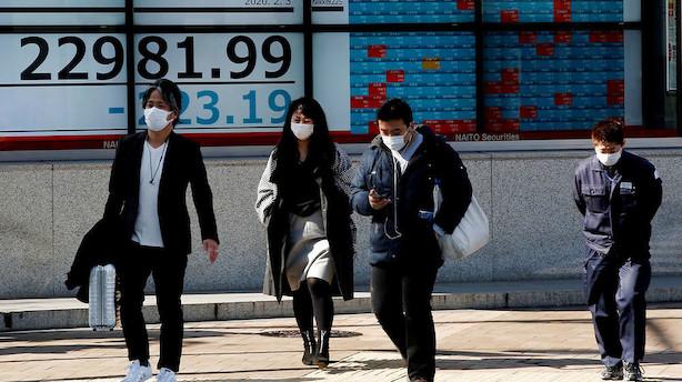Aktier: Generelle stigninger uden for Japan