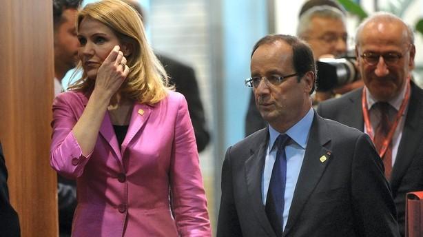 Thorning får nu højere løn end Hollande