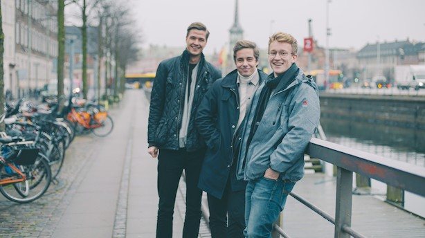 """Dansk højttalertrio først i 20'erne brager ind på Forbes-liste: """"Vi er bare tre almindelige fyre"""""""