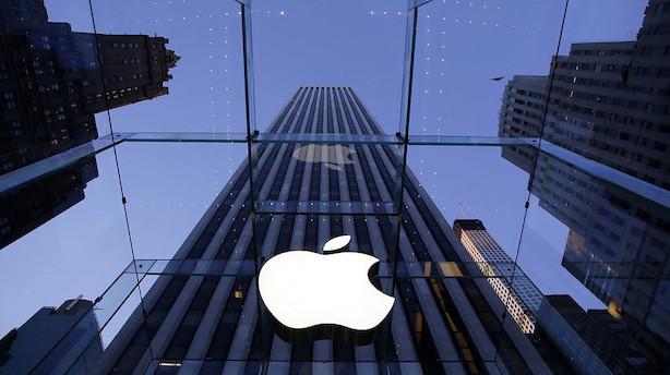 Amerikanske aktier i grøn igen efter voldsomme fald: Apple stiger 4 pct