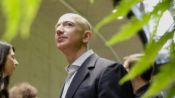 Amazon overhaler Google som næstmest værdifulde selskab i USA