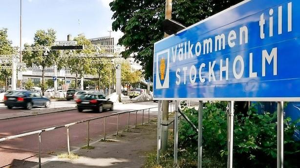 Stockholm bløder: Priserne på lejligheder er dykket 11 pct.