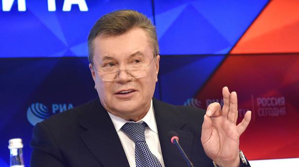 Medie: Tidligere ukrainsk præsident brugte Swedbank i formodet bestikkelsessag