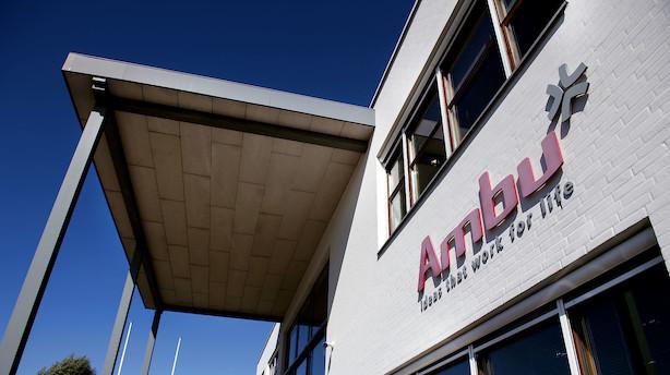Ambu er fortsat den mest shortede aktie på det danske aktiemarked