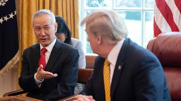 Internationale medier forud for delaftale mellem USA og Kina: Der bliver tidligst skruet på kinesisk told om 10 måneder