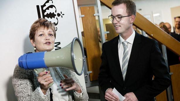 Lunde beklager tone i Facebook-opslag om Ida Auken