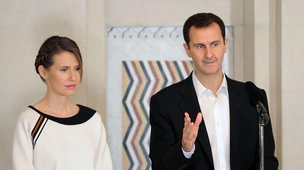 Assad vil have tre partier i en ny syrisk regering