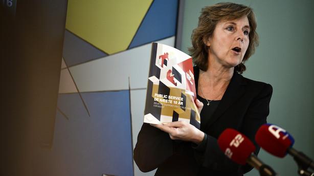 Medieboss efter ny public service-rapport: Fusion af DR og TV2 kan svække os
