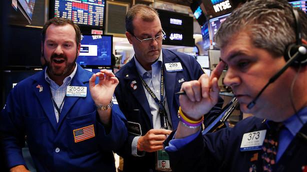 Aktier: Amerikanerne fejrede Black Friday med stigende aktiekurser