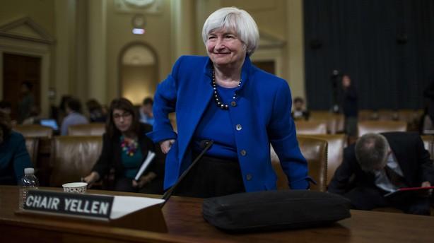 Vigtigt og beroligende rente-signal fra Yellen