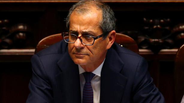 Italiens regering beroliger EU: Vil blive i euroen og begrænse sin gæld